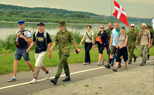 фестиваль ходьбы в Литве Walkers Festival of Lithuania